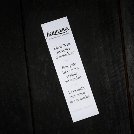 AQUILERIA Lesezeichen