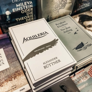 Das Buch AQUILERIA Geschichten Band I im Sortiment der Chemnitzer Buchhandlung Lessing und Kompanie.