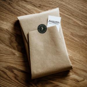 Skalatar nachhaltiger Verpackungsprozess Schritt 3